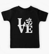 Camiseta para niños Om amor