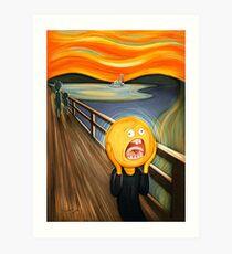 Rick and Morty - The Sun Scream Art Print