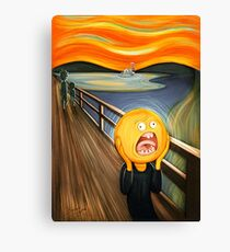 Rick and Morty - The Sun Scream Canvas Print
