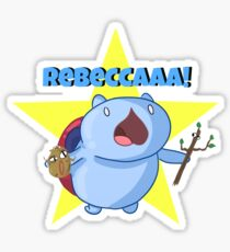 Rebeccaaa! Sticker