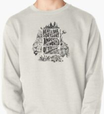 You'll Be In My Heart (On White) Pullover