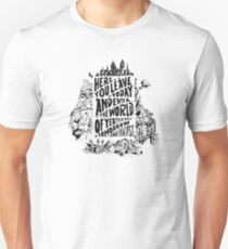 You'll Be In My Heart (On White) Unisex T-Shirt