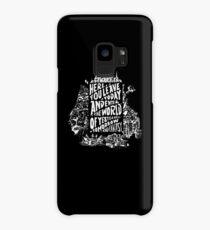 You'll Be In My Heart (On Black) Case/Skin for Samsung Galaxy