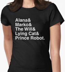 Saga Women's Fitted T-Shirt