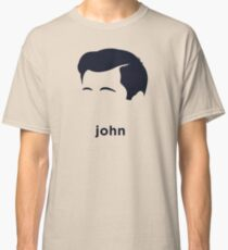 John F Kennedy (Hirsute History) Classic T-Shirt