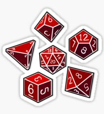 Dice of Power Sticker
