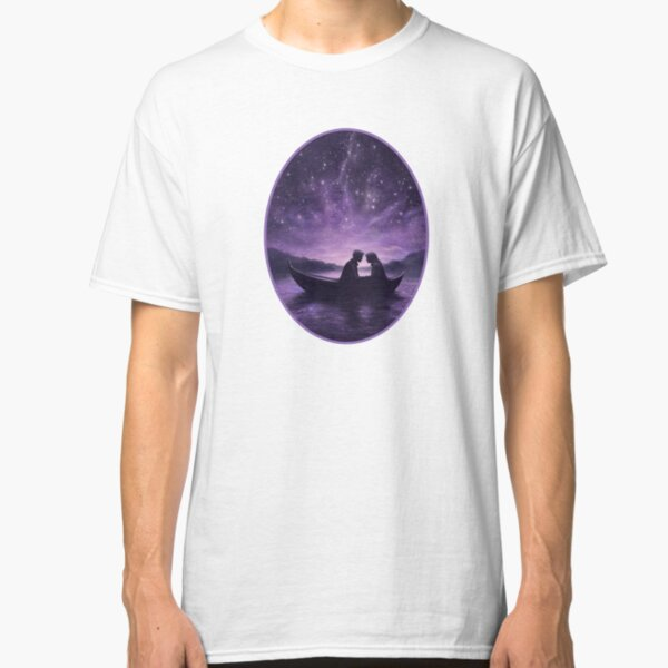 Lovers under a starlit sky Classic T-Shirt