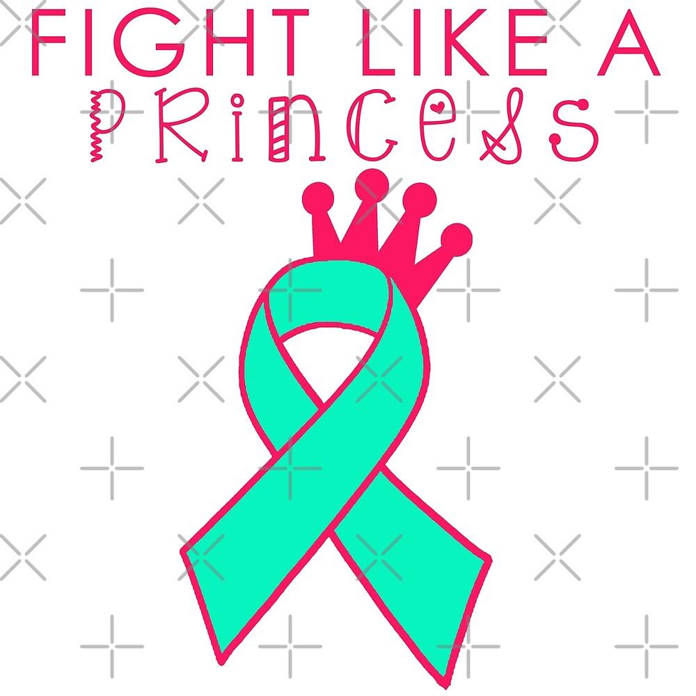 Fight Like a Princess - Mint by Nisa Katz