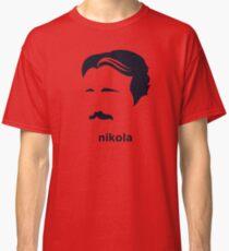 Nikola Tesla (Hirsute History) Classic T-Shirt