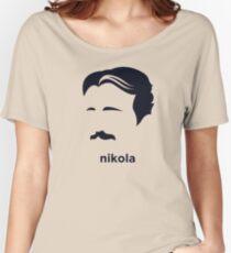 Nikola Tesla (Hirsute History) Women's Relaxed Fit T-Shirt