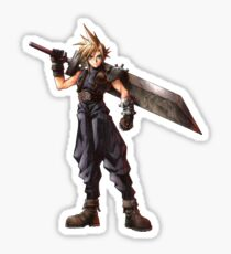 Final Fantasy VII - Cloud  Sticker
