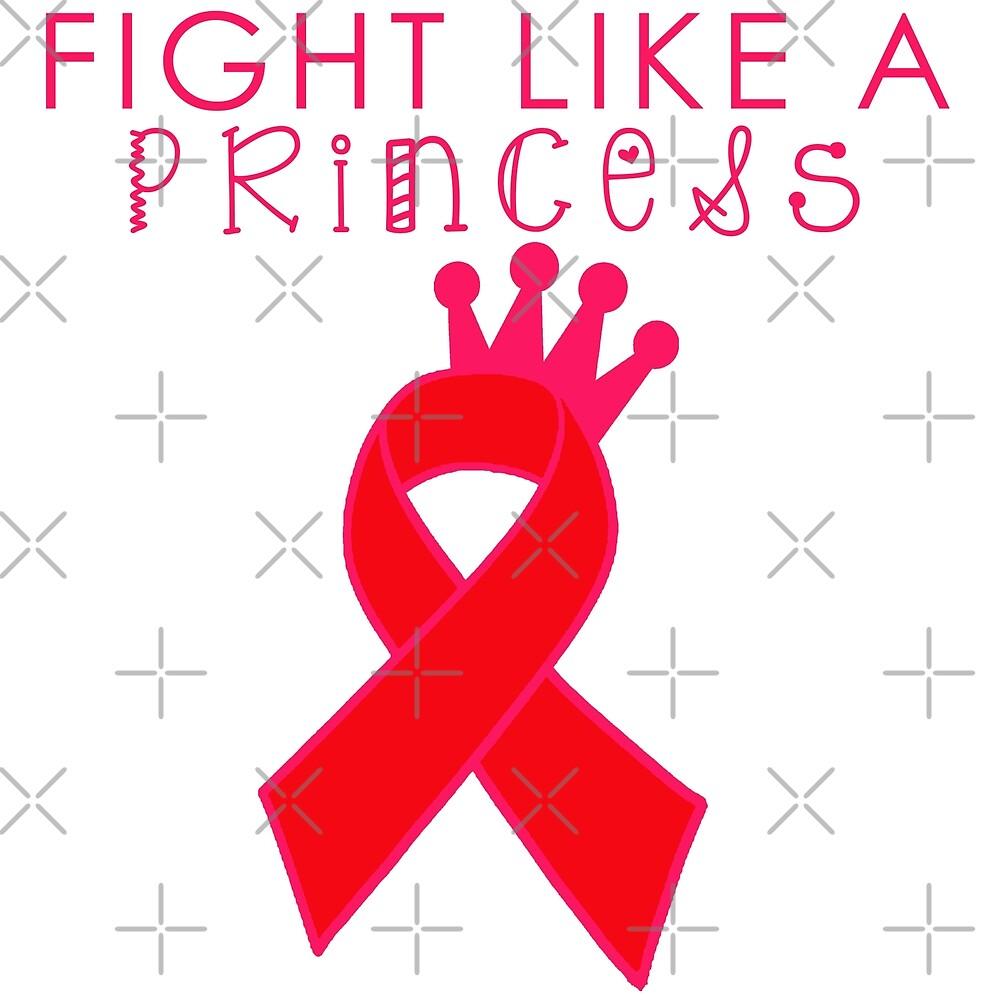 Fight Like a Princess - Red by Nisa Katz