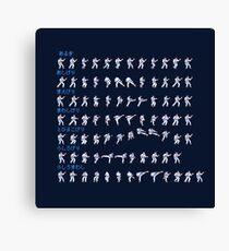 Karate Champ Kicks! Canvas Print