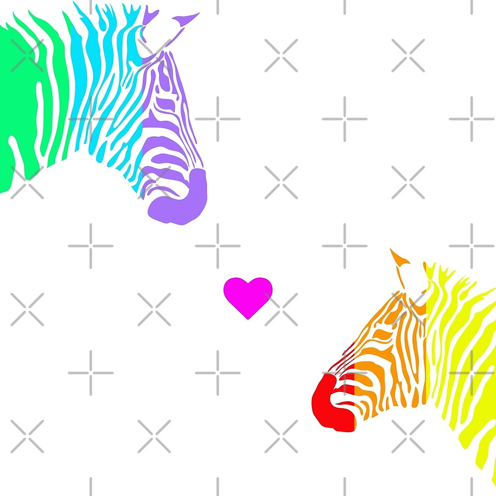 Zebra Love by Nisa Katz