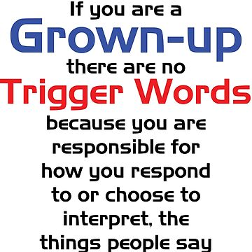 Trigger Words by mgtow