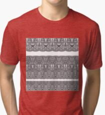 Tribal Corset  Tri-blend T-Shirt