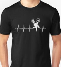 Hunting Deer Heartbeat Deer T-Shirt
