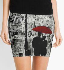 rainy promenade Mini Skirt