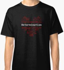 Undertale Word Heart Classic T-Shirt