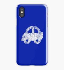 Cute Car - White iPhone Case/Skin