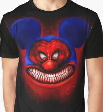 Badass Mouse Graphic T-Shirt