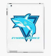 Cynical Sharks Logo iPad Case/Skin