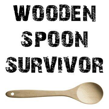 Wooden Spoon Survivor by raafi-shop