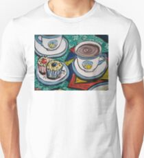 Tea for Three - Tea and Cake Section  Unisex T-Shirt