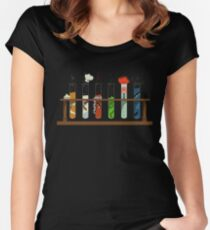 Muppet Science Women's Fitted Scoop T-Shirt