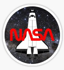 NASA Shuttle is in space! Sticker