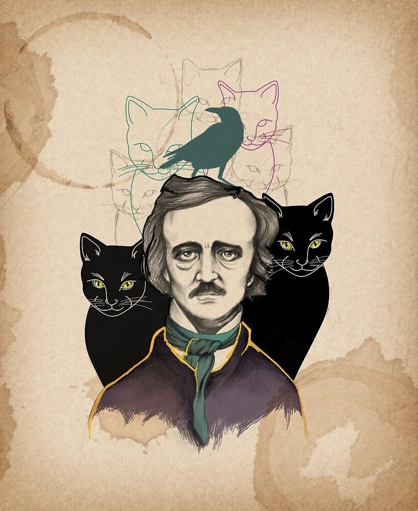 «Edgar Allan Poe» de aledelatorre