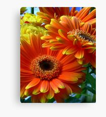 Flowers from my date - Photography Canvas Print
