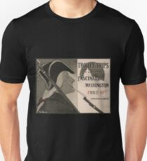 Artist Posters Trolley trips in and about fascinating Washington by Katharine M Abbott 0831 T-Shirt