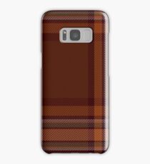 00324 Down County (District) Tartan  Samsung Galaxy Case/Skin