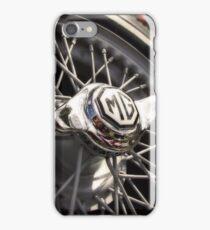 MG Wire Wheel iPhone Case/Skin