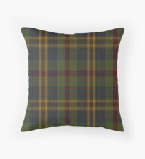 00333 Limerick County (District) Tartan Throw Pillow