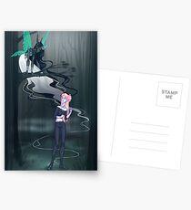 Dark Fairy Postcards