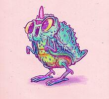 Hot Chick Kaiju by Nate Bear