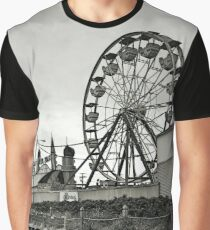The Quiet in a Crowded Place - black and white Graphic T-Shirt