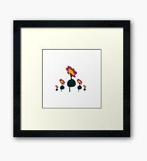 Kids Flowers Framed Print