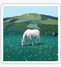 The White Horse of Alfriston Sticker