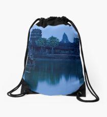 Angkor Wat at Dusk Drawstring Bag