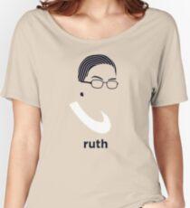 Ruth Bader Ginsburg (Hirsute History) Women's Relaxed Fit T-Shirt