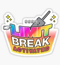 Limit Break Activated! Sticker
