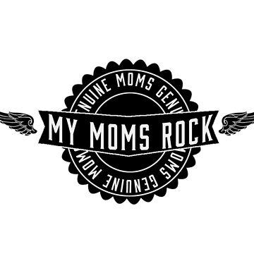 Lesbian My MOm's Rock by marceejean