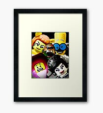 More Monsters and nice spirits Framed Print