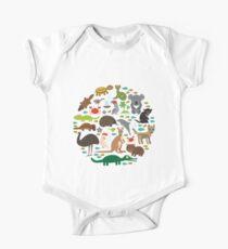 Australien Baby Body Kurzarm