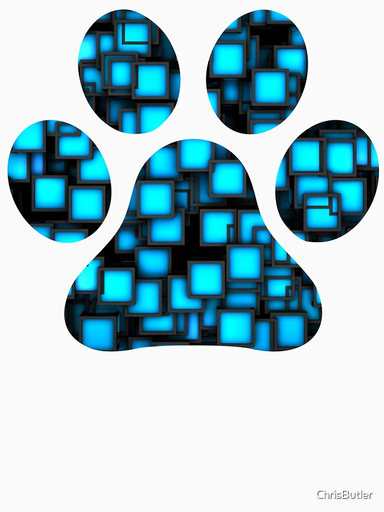Paw Print by ChrisButler