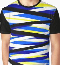 Zipper Graphic T-Shirt
