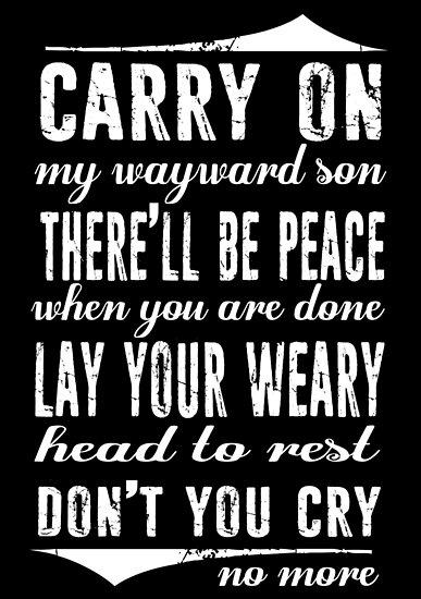 Spn Wayward Söhne (weiße Version) von kurticide